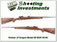 Kimber of Oregon Model 89 BGR 30-06 Exc COnd
