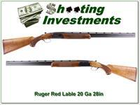 Ruger Red Label 20 Ga 28in nice wood!