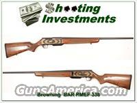 Browning BAR 338 Win Mag Rocky Mountain Elk Foundation!