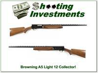 Browning A5 Light 12 73 Belgium Vent Rib collector!