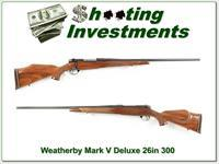 Weatherby Mark V Deluxe 300 Wthy Exc Cond!