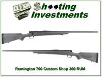 Remington 700 Custom Shop 300 RUM like new!