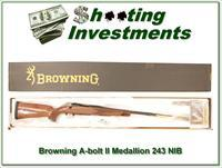 Browning A-bolt II Medallion 243 Win last of them