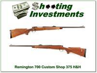 Remington 700 Custom Shop 375 H&H Mag nice!