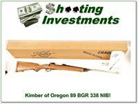 Kimber of Oregon Model 89 BGR 338 unfired in box!