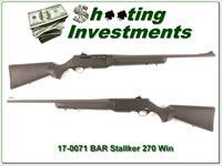 Browning BAR Mark II Stalker 270 Win