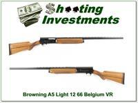 Browning A5 12 Magnum 66 Belgium VR Blond!