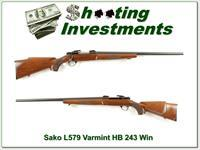Sako L579 Forester 243 Varmint Heavy Barrel