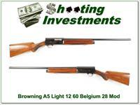 Browning A4 Light 12 60 Belgium 28in Mod