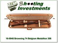 Browning Belgium Medallion Grade 308 Win in case