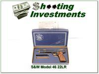 Smith & Wesson Model 46 22LR 7in in box!