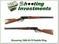 Browning 1886 Saddle Ring 45-70!
