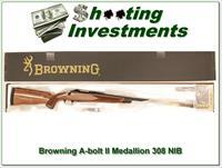 Browning A-bolt II Medallion 308 last of the new ones!