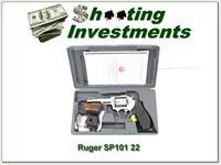 Ruger SP101 Stainless 4in 8 shot revolver ANIC!
