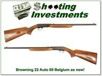 Browning 22 Auto 69 Belgium near new!