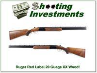Ruger Red Label 20 Gauge XX Wood mint 26in skeet