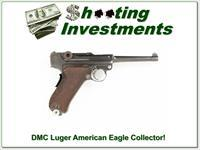 1906 DMC Luger American Eagle Collector!