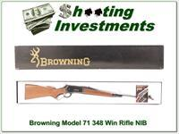 Browning Model 71 348 Win 24in rifle NIB!