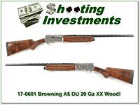 Browning A5 Light 20 1990 DU as new!