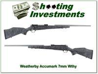 Weatherby Mark V Accumark 7mm Wthy Mag