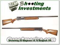 Browning A5 Magnum 12 75 Belgium 30in VR