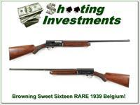 1939 Browning Sweet Sixteen RARE early gun!