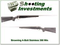 Browning A-Bolt II Stainless Stalker 26in 300 Win Mag