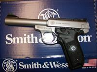 "Smith & Wesson SW22 Victory 5.5"" Stainless"