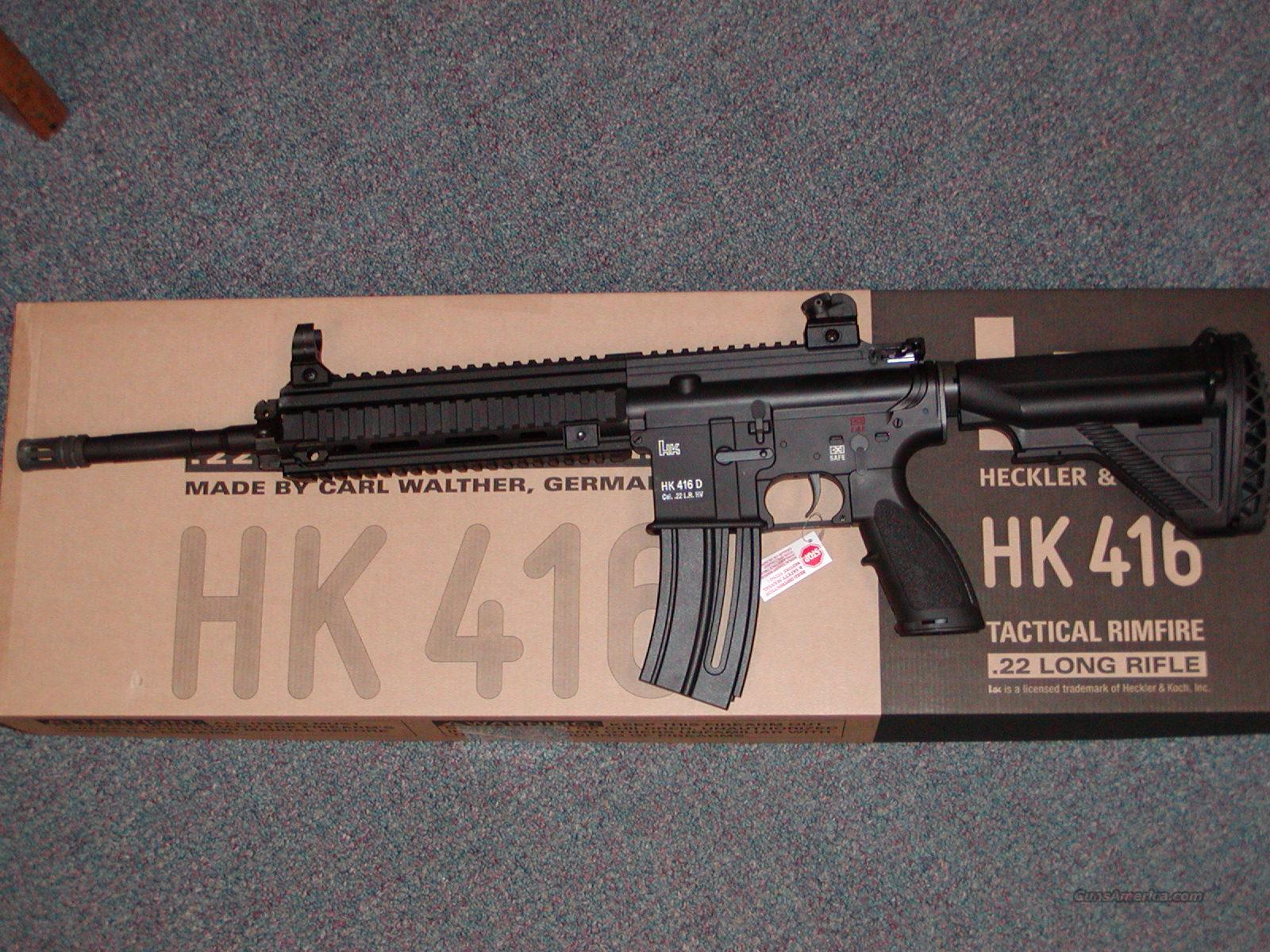 Umarex HK 416  Tactical  22LR