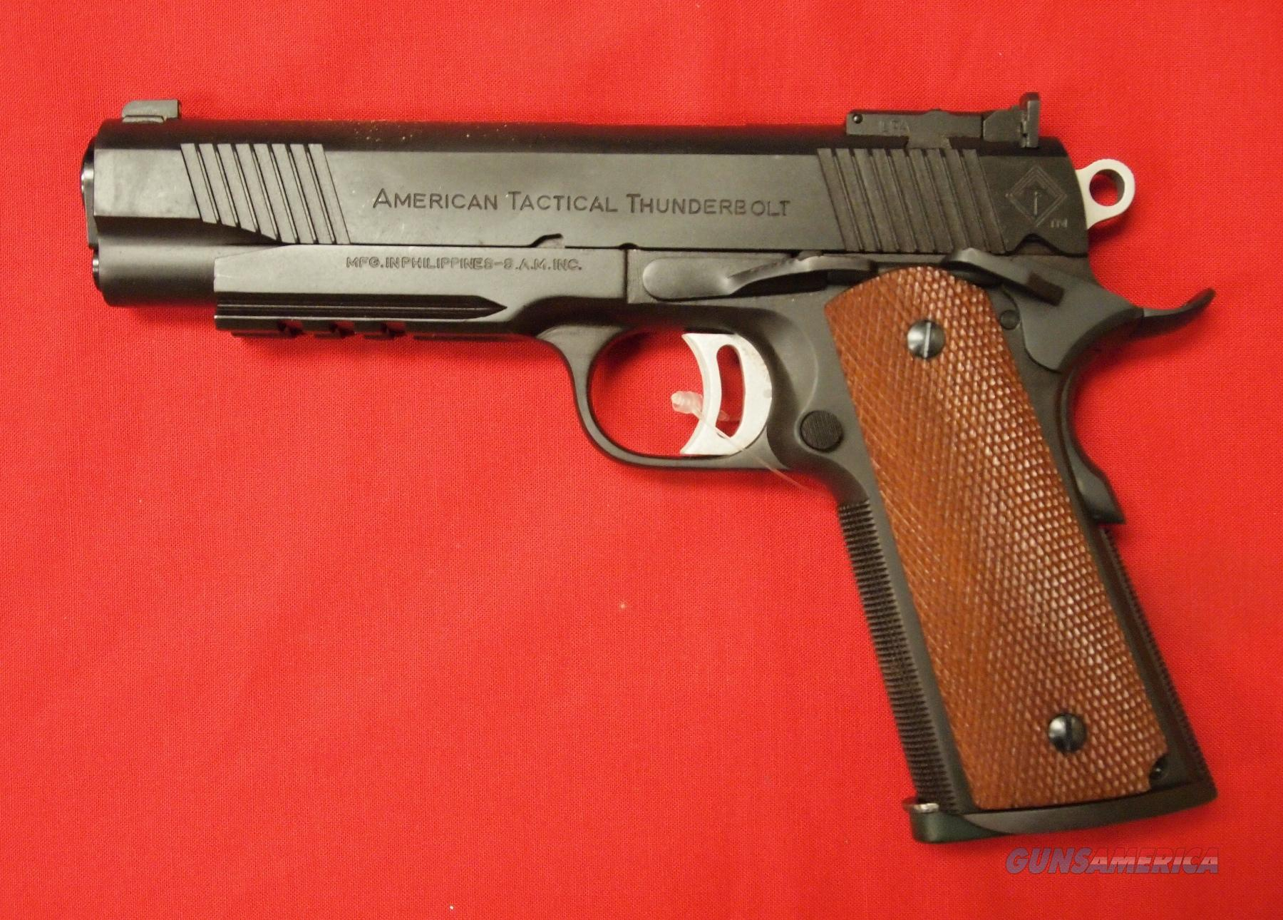 American Tactical Fx45 1911 Thunderbolt 45 Acp For Sale