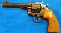 COLT OFFICERS MODEL MATCH 38 SPL ( MFG 1955)