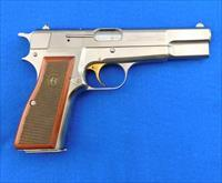 Browning Hi Power (Belgium) Nickel 9mm