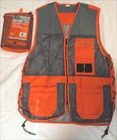Champion Shooting Gear Trap Vest, Blaze Orange and Grey