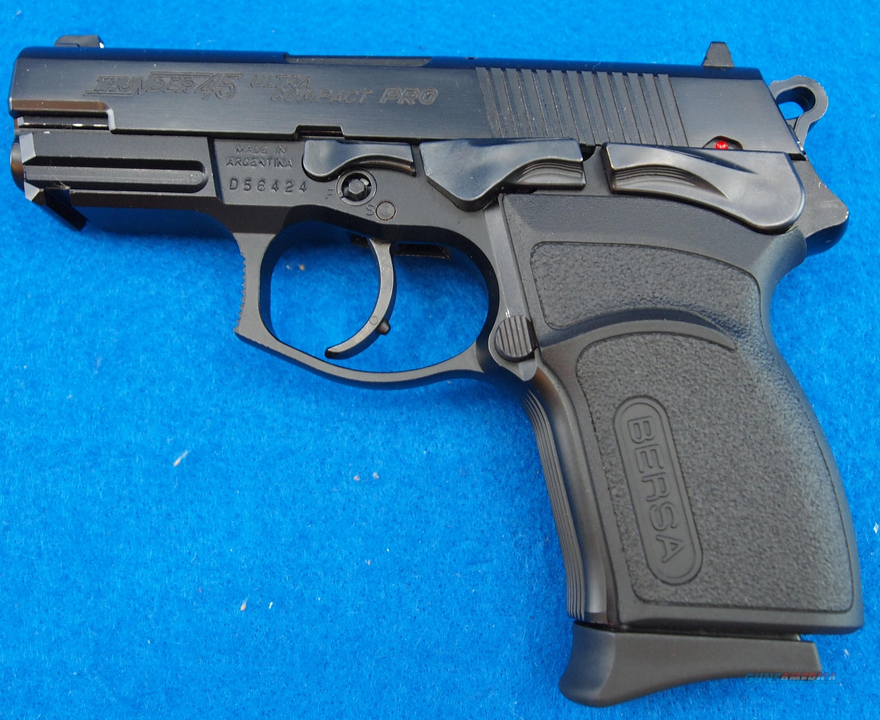 Bersa 45 Ultra Compact