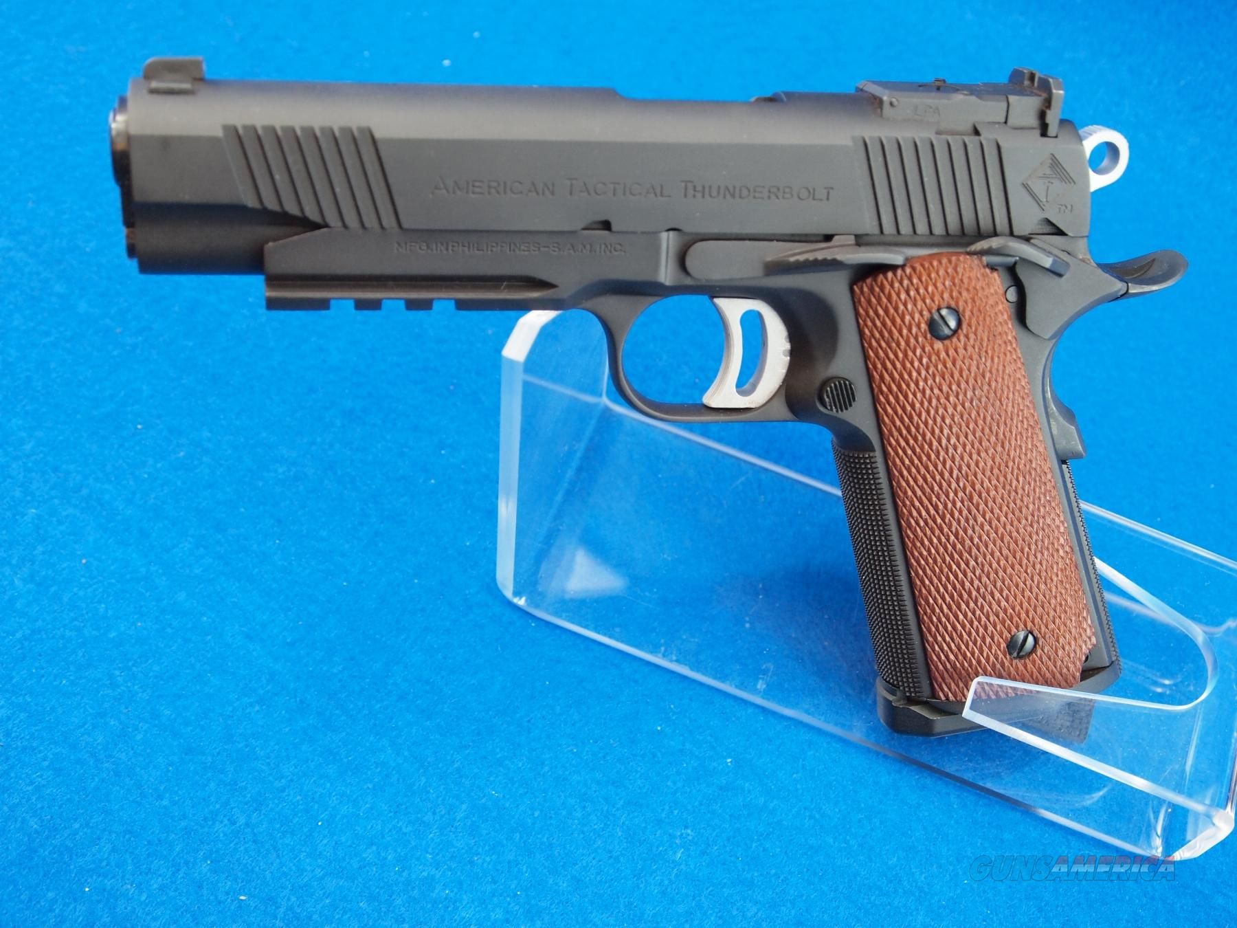 American Tactical 1911 Thunderbolt 45 Acp For Sale