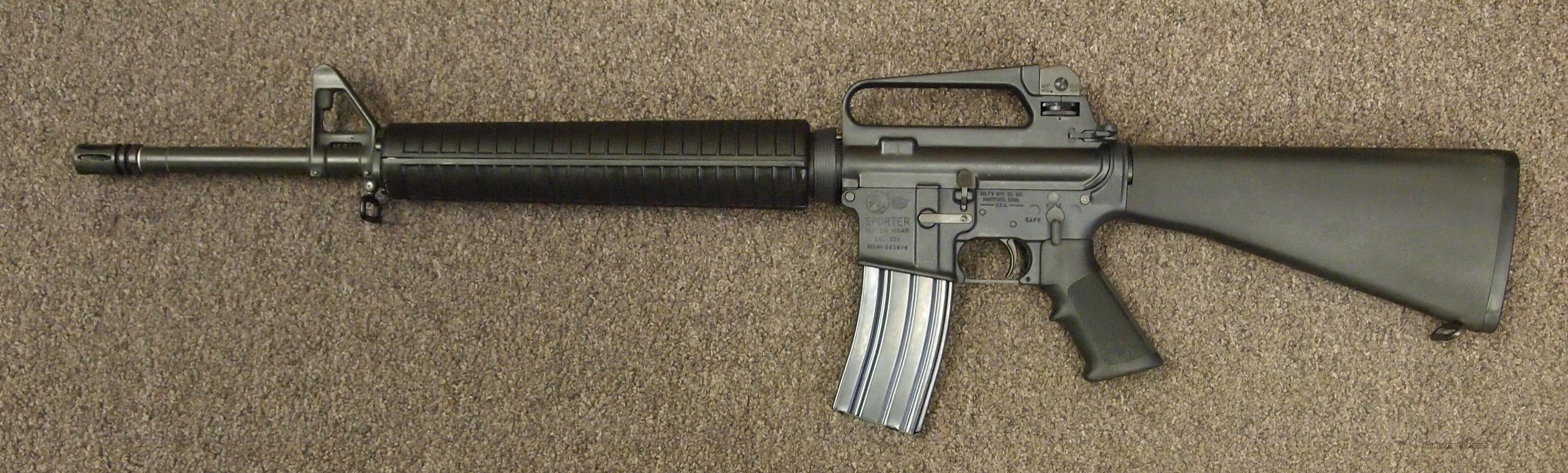 Colt AR-15 Sporter Match HBAR .223 Guns > Rifles > Colt Military/