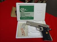 COLT MK IV SERIES 70 GOVERNMENT IN 45 ACP