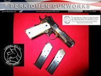 "BBQ COMMANDER HERITAGE MODEL 1911, 45acp, 4.25"", NIB and BEAUTIFUL!!!!"
