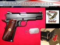 "CQB Commander .45acp, 4.25"", Black/Black with upgrades, New in case."