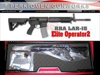 Elite Operator 2, LAR-15, 5.56 with FREE RRA Stand Alone Rear Sight - New in Case