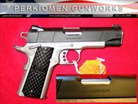 "LW Commander Elite, 45acp, 4.25"" w/Fancy Grips, NIB"