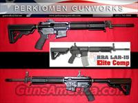 Elite Comp Mid-Length Carb. LAR-15 w/Chrome options - New in Box