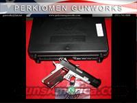 "Custom Crimson Carry II (GREEN), 45acp, 5"" w/Green Laser beam grips, New in Box (Retirement – Closeout)"
