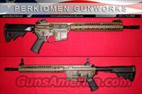 "LWRC M6A2 SPR, 5.56, 14.7"", Patriot Brown, NIB / Final Close-Out Price."