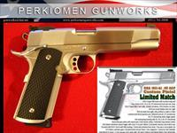 1911-A1 Custom Limited Match, 45acp, New in Box