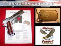 "Classic CQB .45acp, 5"", Stainless Upgrade with options - New"