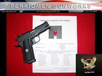 "Professional, .45 ACP, 4"", w/Options – New in Box."