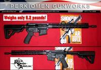 "Lightweight Mountain Rifle, LAR-15, 5.56/223, 16"" w/Grip & Stock upgrades - New"