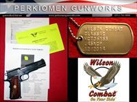 Classic 45acp with Custom Options - New in case from Wilson!!