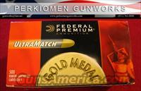 Federal UltraMatch .22lr, Brick of 500 - NEW